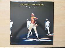 """FREDDIE MERCURY Living On My Own  UK 12"""" single in picture sleeve Parlophone"""