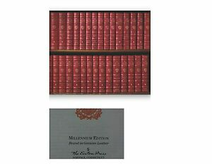 Easton-Press-HARVARD-CLASSICS-Millennium-Edition-50-vols-complete