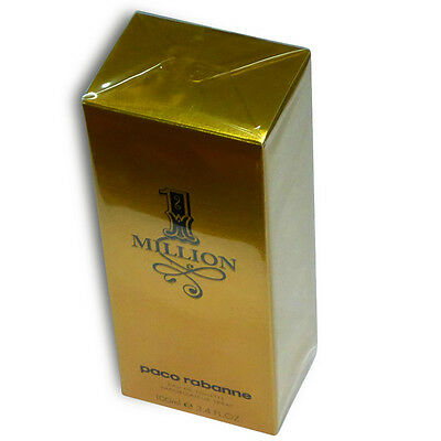 Paco Rabanne 1 Million Eau De Toilette Spray 100ml Perfume For Man New In Box