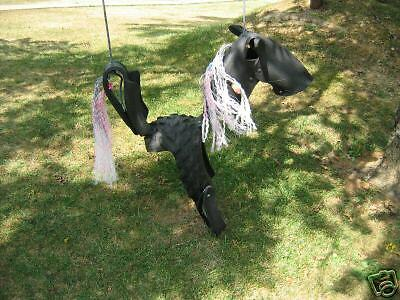 Roping Pony  Horse Tire Tire Tire Swing 10221f