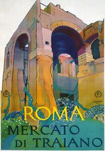 A1 XLarge Vintage Retro Italian Italy Travel Posters Garda Milan Venice Rome