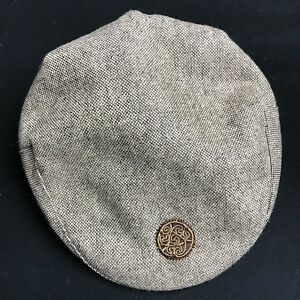 eba97d369f184 Patrick Francis Ireland Kids Tweed Flat Cap Brown Youth Boys Medium ...
