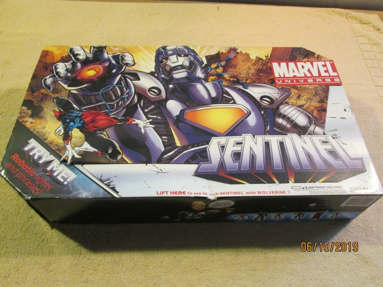 Marvel Universe 16  electronic lights & sounds SENTINEL