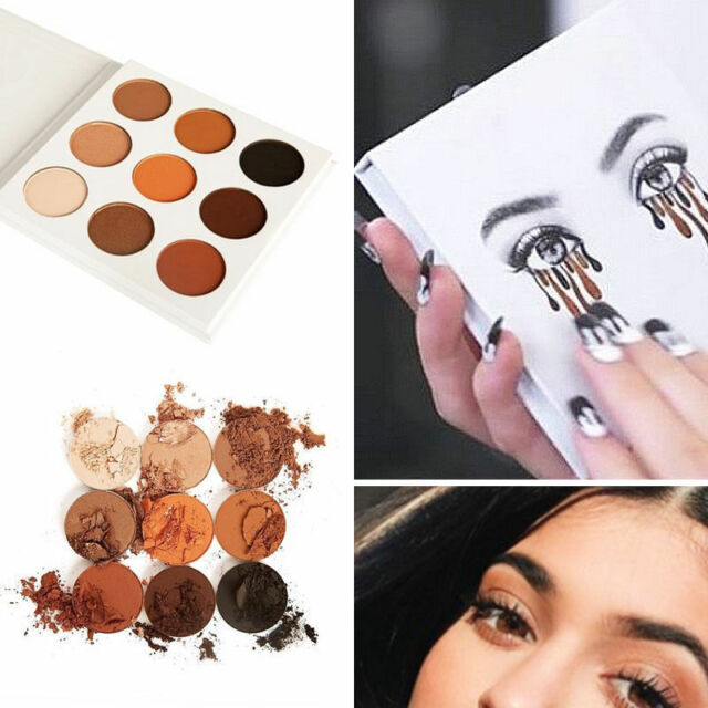 9 Colors Lady Shimmer Matte Eyeshadow Palette set Makeup Cosmetic Eye Shadow