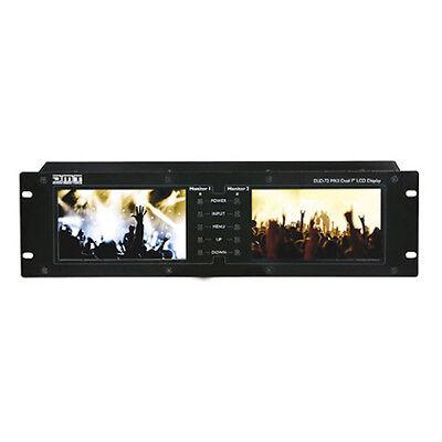 Precise Dmt Dld-72 Mkii Dual Monitor Screen Display Av Video Camera Screen Studio Hdmi Pure Whiteness Dj Equipment Other Dj Equipment