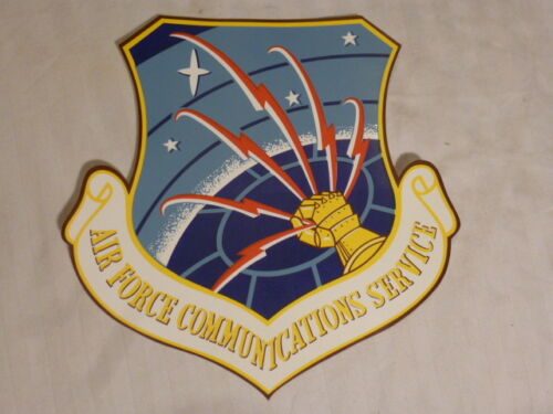 Air Force Communications Service decal, 8 x 8, 3M Scotchcal film