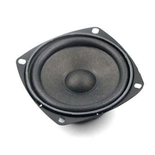 """3/"""" inch 4Ohm 4Ω 10W Round Full Range Audio Speaker Loudspeaker Horn Home B$CA"""