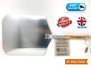 Kitchencraft-Italien-Traditionnel-Pizza-Peler-30-5-X-30-5-cm-Argent-Beige