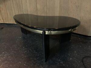 Mid Century Modern Kidney Shaped Coffee Table Mod Retro Regency Ebay