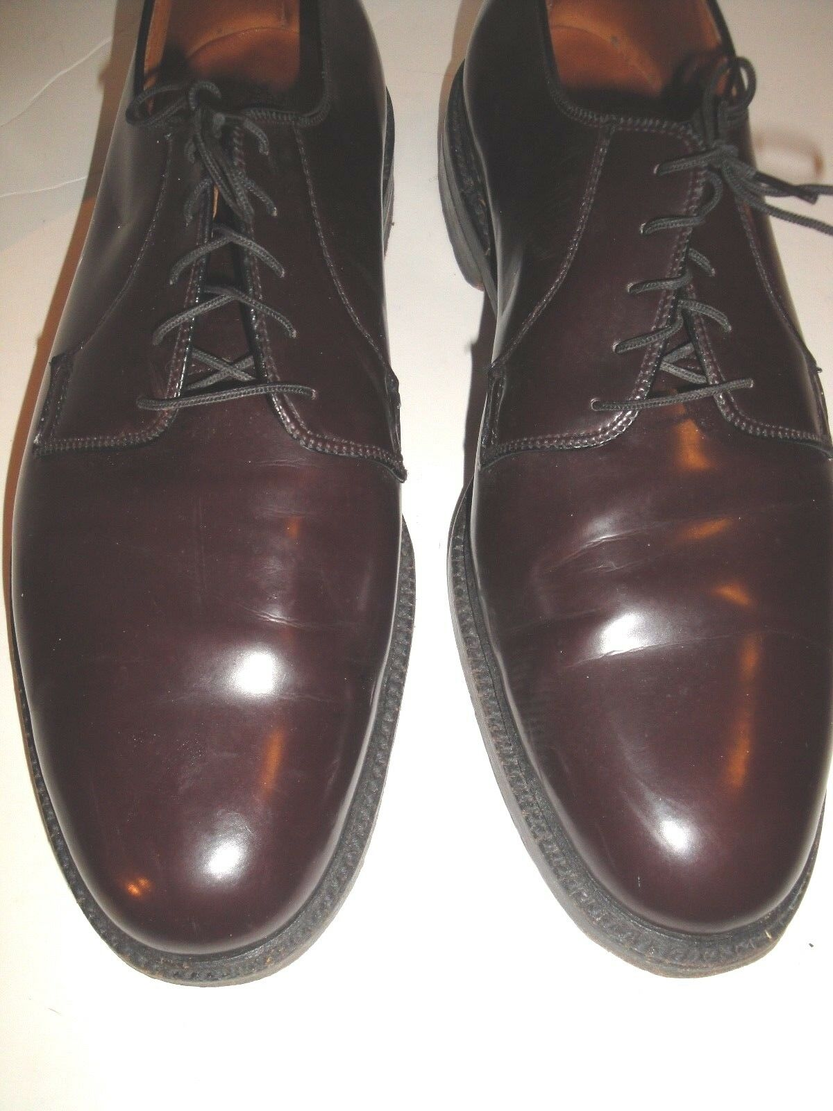 BOOT MASTER BY THOM MCAN BURGUNDY CORFAM OXFORD MENS SHOE SIZE 11 M