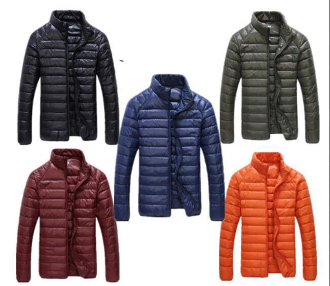 Manteau de la mode des hommes d hiver veste ultralight outdoor doudoune