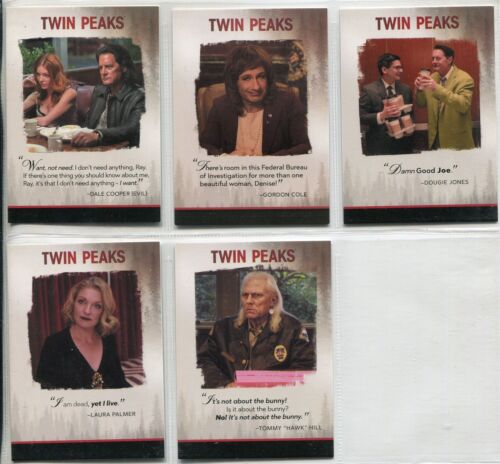 Twin Peaks 2018 Complete Quotable Chase Card Set Q1-Q14
