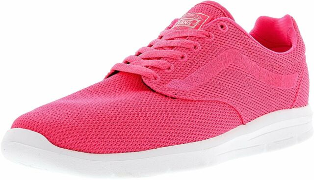 43f0775519 VANS Mens 6.5 Womens 8 ISO 1.5 Mesh Knockout Pink Running Athletic ...