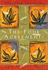 Toltec Wisdom: The Four Agreements : A Practical Guide to Personal Freedom by Janet Mills and Don Miguel Ruiz (1950-1999, Paperback)