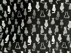 "Quilt 40 Charm Pack 5x5/"" Fabric square Children Retro Kitchen Bread Milk Pattern"