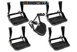 4x-STC7631-1x-STC7632-Land-Rover-Defender-90-110-Folding-Side-amp-Rear-Steps