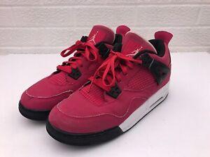 73150da3289 Nike Air Jordan Retro IV Valentine's Day Voltage Cherry 7Y 487724 ...