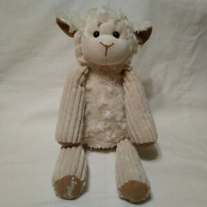Scentsy-Buddy-Lenny-the-Stuffed-Lamb-15-034-Retired-2010-Soft-Cuddly-Fluffy-Easter