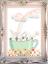Bunny Rabbit Nursery Prints Set OF 3 Baby Girl Room Hot Air Balloons Printable