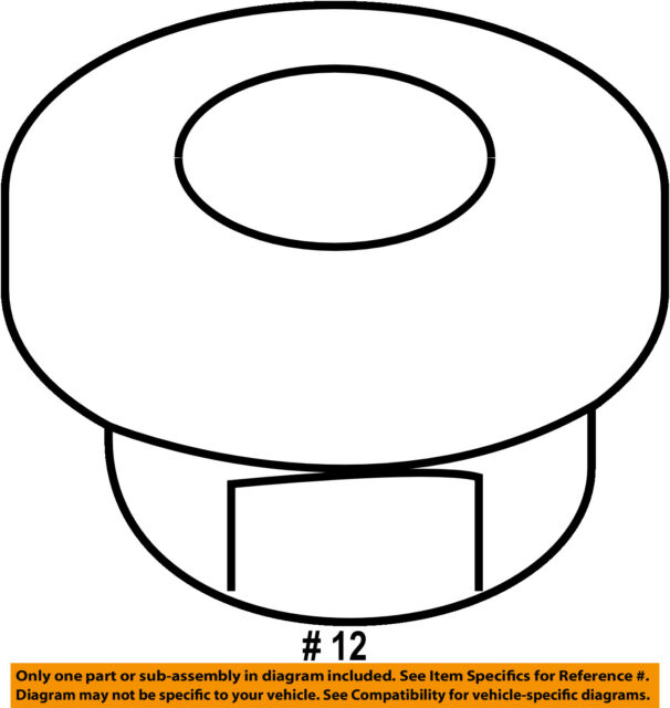 Buy Hyundai Oem 13 15 Santa Fe 3 3l V6 Exhaust Heat Shield Nut