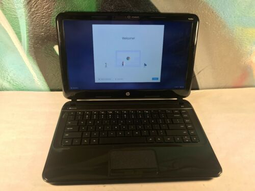 "A GRADE Webcam HDMI 16GB SSD 4GB HP 14-c020us 14/"" Laptop Chromebook"