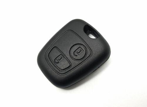 2 teclas llaves del coche carcasa rohling reparación adecuado para peugeot 207 307 407