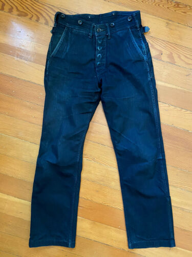 Mister Freedom Midnight Rider Pants Jeans Size 28