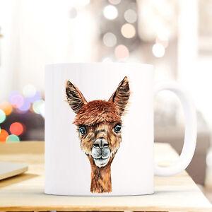 ZuverläSsig Tasse Becher Alpaka Geschenk Tiermotiv Kaffeetasse Kaffeebecher Lama Ts739 Tassen