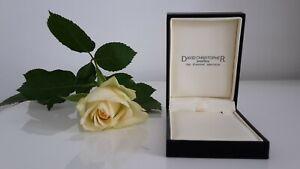 DAVID-CHRISTOPHER-Jewellers-All-over-Black-Cream-Interior-Jewellery-Gift-Box-BN