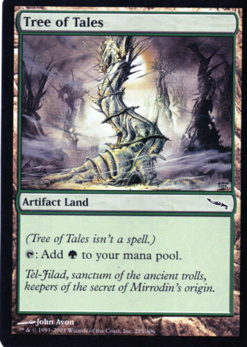 Mirrodin PL Magic ENG Tree of Tales // Baum der Sagen