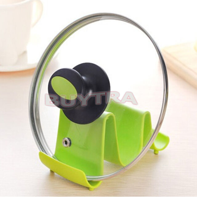 Spoon Rest Pot Pan Lid Stand Brand New Kitchen Cooking Utensil Holder WF01