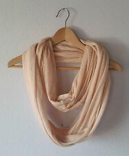 Nudefarbener Loopschal Schlauchschal von pieces rosa hautfarben