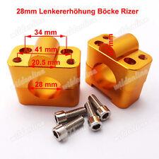 28mm Lenkererhöhung Böcke Rizer Lenker Adapter für Pit Dirt Bike ATV Quad