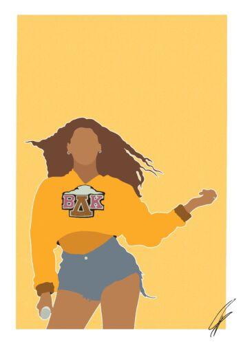 Beyonce INSPIRED WALL ART Print Poster A4 A3 Beyoncé single ladies girls yonce