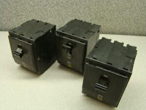 Square-D-QO-Circuit-Breaker-3-Pole-10A-240V-QTY-of-3