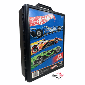 Mattel Hot Wheels Car Storage Carrying Case Holds 48 Die Cast Cars / 2012