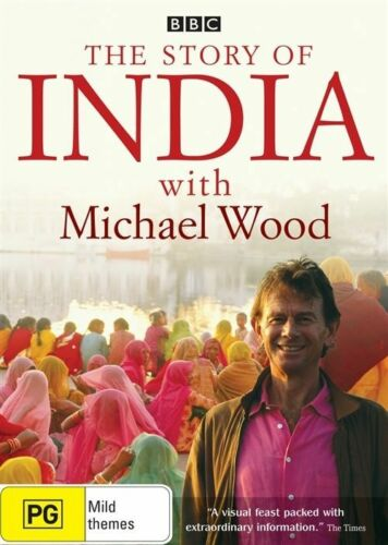 1 of 1 - The Story of India with Michael Wood (DVD, 2 Discs) Region 4 - Good Condition