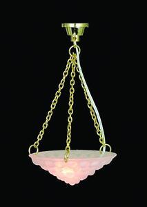 Image Is Loading Dolls House Hanging Ceiling Light 12v Miniature 1