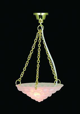 Ceiling light 9 to choose. 12v 1:12 scale dolls house miniature wired lighting