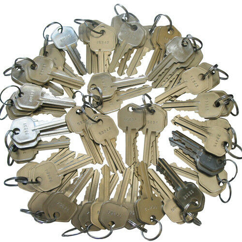 100 Pieces Precut Kwikset 5 pins Keys KW1 Rekeying Key locksmith 20 sets of 5