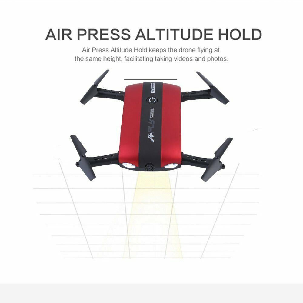 New Mini Red Quadcopter Head Lights  RC Drone Aircraft Headless With Camera