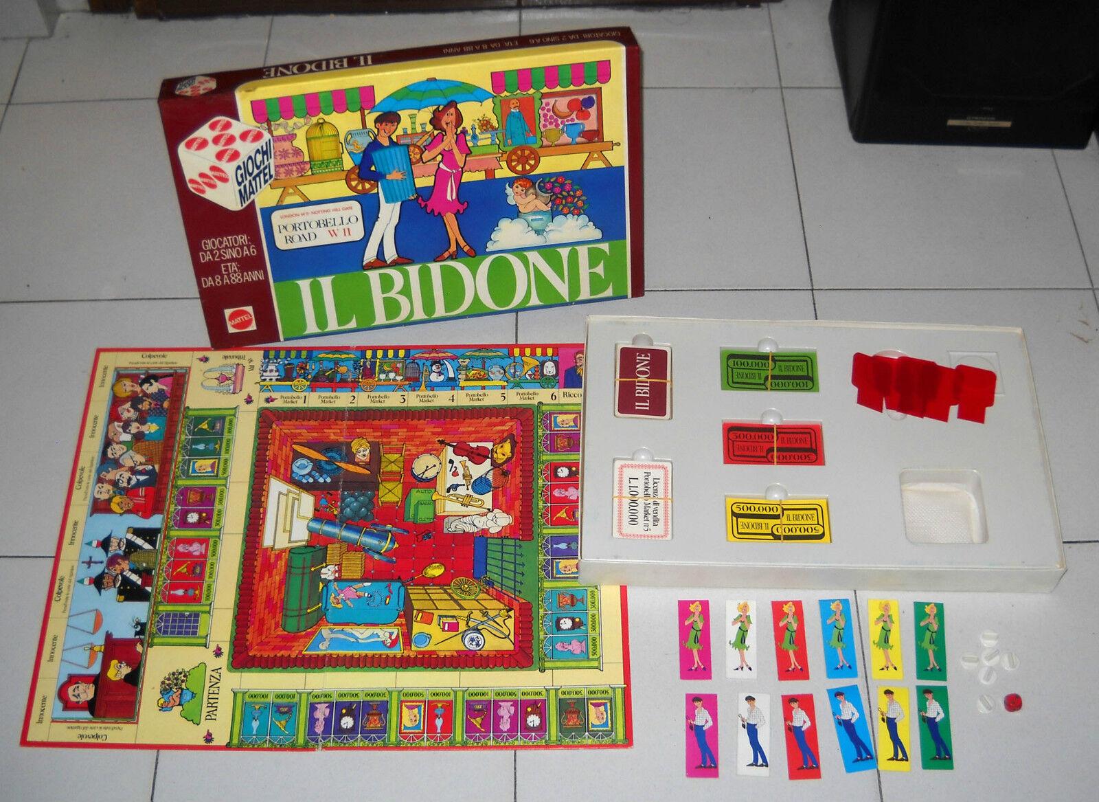 Le bin- Mattel Jeux Années 80 Portobello Road W11