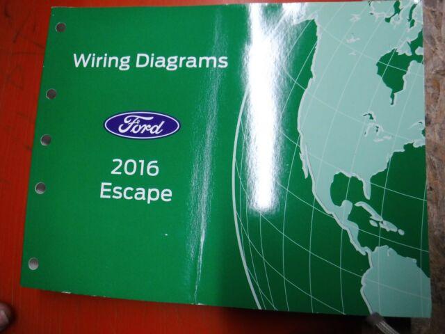 2016 Ford Escape Original Factory Wiring Diagrams Manual