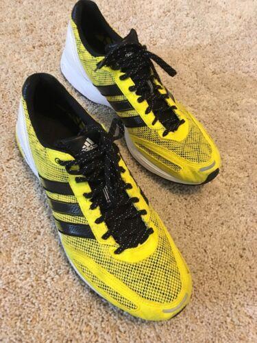 da Adizero taglia corsa 12 Yellow Adidas Scarpe HFw1qxSZZ