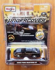 New NEED FOR SPEED Undercover 2006 Ford Mustang GT 1:64 Maisto Black & Gold