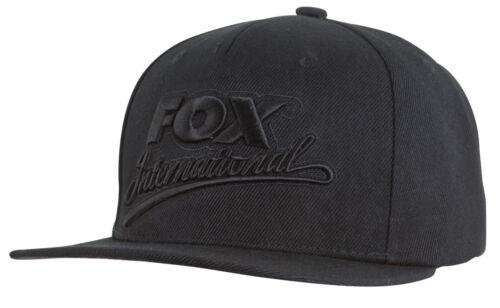 Fox Black Camo Snapback Cap cpr983 Baseballcap Cappie Visière Bonnet Casquette