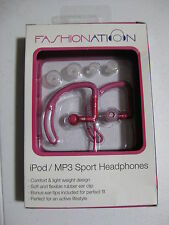 Fashionations FN-EB1020 Sportbuds Pink headphones earbuds sport running gym clip