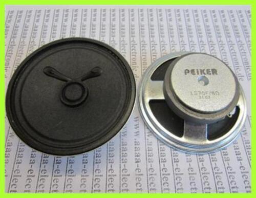 Peiker ALTOPARLANTI SPEAKER CITOFONO 8ohm 1w 70x22mm ls70f 1 PZ
