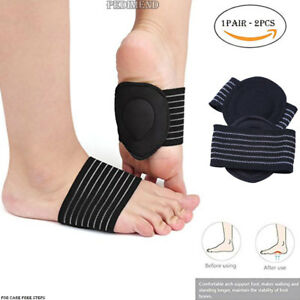 cd7587173f Image is loading PEDIMEND-Cushioned-Foot-Arch-Insoles-For-Plantar-Fasciitis-
