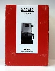 gaggia ri9403 11 siebtr ger espressomaschine dampfd se edelstahl ebay. Black Bedroom Furniture Sets. Home Design Ideas